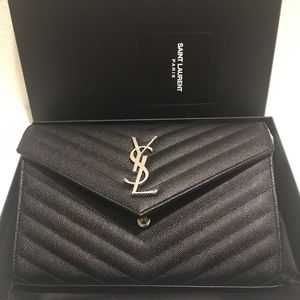 YSL college wallet on chain